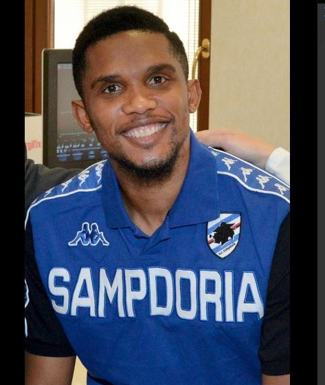 Serie A: Samuel Eto'o à la Sampdoria pour trois ans et demi