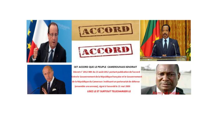 CET ACCORD QUE PAUL BIYA NOUS A CACHE   !