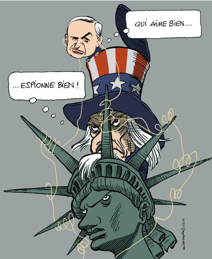 Complot d'Israël contre les États-Unis