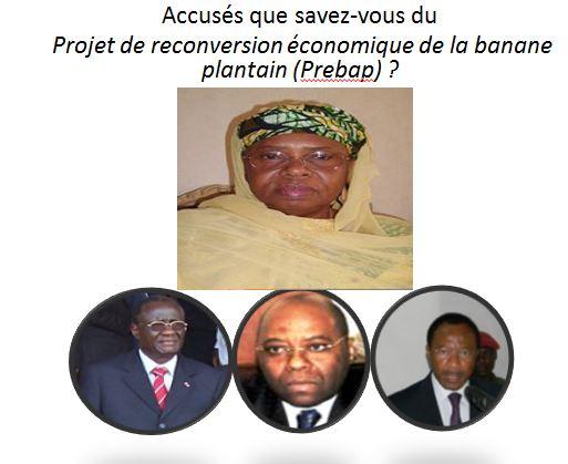 Le Tribunal criminel spécial (Tcs) sur les traces du Projet de reconversion économique de la banane plantain (Prebap).