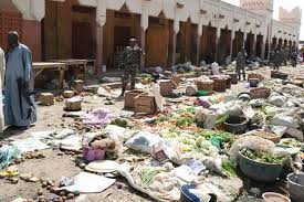 Cameroun-MarouaMarché « Gare routière » de Maroua: 90 boutiques scellées