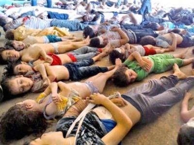 Les morts de Ghouta