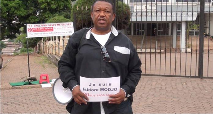 SAUVER LE SOLDAT ISIDORE MODJO : qui depuis 20 ans ne perçoit pas de salaire sur  ses œuvres