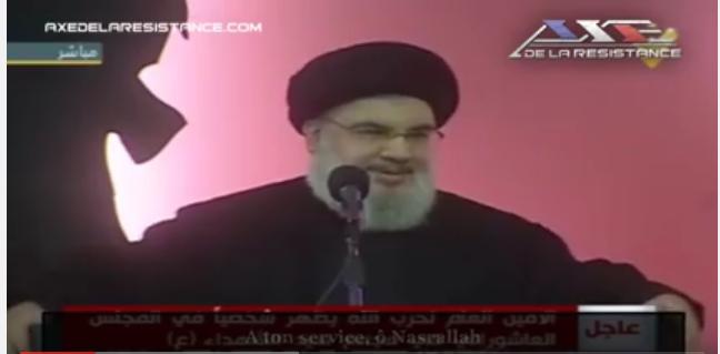 Washington ne combat pas Daesh, il le déplace par Hassan Nasrallah
