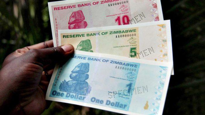 LE ZIMBABWE ET SA PROPRE DEVISE