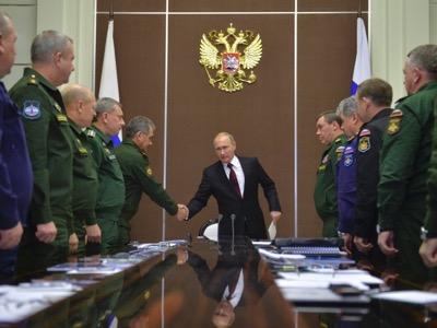 L'arméerusse affirme sasupériorité enguerreconventionnelle