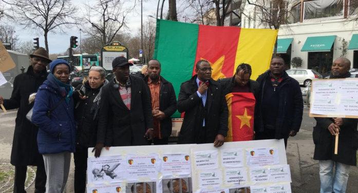 DEMAIN TOUT  SUR LA MANIFESTATION DU 19 MARS DEVANT L'AMBASSADE DU CAMEROUN A PARIS