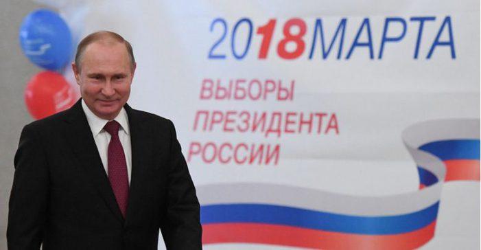 Présidentielle russe : Vladimir Poutine réélu dès le premier tour