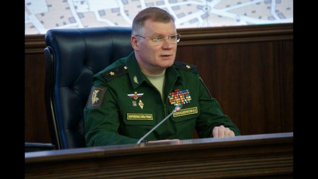 🇷🇺RUSSIE – VIDEO. Le bilan du terrain syrien, avec le porte-parole du ministère russe de la Défense, Igor Konashenkov