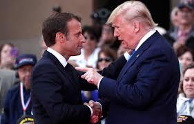 Macron prétend parler à l'Iran pour les USA
